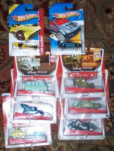 pixar cars and hot wheels